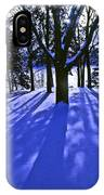 Winter Shadows IPhone Case