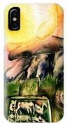 Winter Solstice , Ancient Stones Of Ireland   IPhone Case