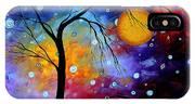 Winter Sparkle By Madart IPhone Case