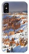 Winter Sunrise Bryce Canyon National Park Utah IPhone Case