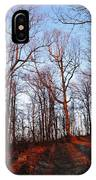 Winter Sunset In Georgia Mountains IPhone Case
