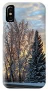 Winter Colors. IPhone Case
