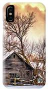 Winter Thoughts 2 - Paint IPhone Case