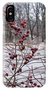Winter Time Frozen Fruit IPhone Case