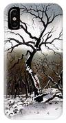 Winter Tree Stainland IPhone Case