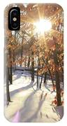Winter Trees #1 IPhone Case