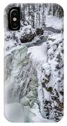 Winter Waterfall IPhone Case