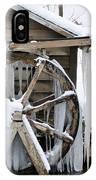 Winter Wheel IPhone Case