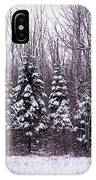 Winter White Magic IPhone Case