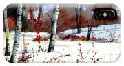 Wintertime Painting IPhone Case