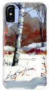 Wintertime Painting IPhone X Case