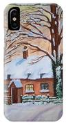 Wintry Evening IPhone Case
