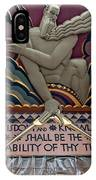 Wisdom Lords Over Rockefeller Center IPhone Case
