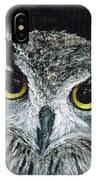 Wise Eyes II IPhone Case