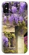 Wisteria Blossom IPhone Case