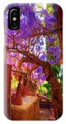 Wisteria Canopy In Bisbee Arizona IPhone Case
