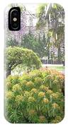 Wisteria In Hailstorm IPhone Case