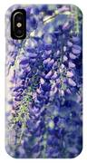 Wisteria Whimsy IPhone Case