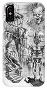 Witch Hunter IPhone Case
