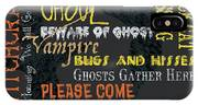 Witchcraft Typography IPhone Case