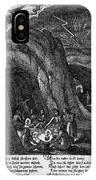 Witches Sabbath, 1630 IPhone Case