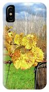 Withered Grape Vine IPhone Case