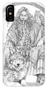 Wizard IIi - The Family Portrait IPhone Case