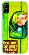 Wizard Of Oz Gate Keeper  IPhone Case