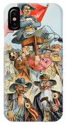 W.j. Bryan Cartoon, 1896 IPhone Case