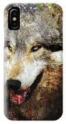 Wolf Art Version 8 IPhone Case
