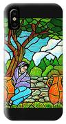 Woman At The Well IPhone Case