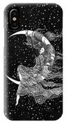 Woman In The Moon IPhone Case