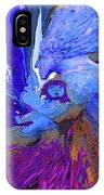 Woman On The Brink Of Civilization IPhone Case