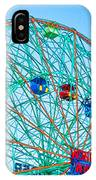Wonder Wheel Amusement Park 1 IPhone Case