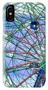 Wonder Wheel Amusement Park 3 IPhone Case