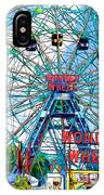 Wonder Wheel Amusement Park 6 IPhone Case
