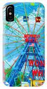 Wonder Wheel Amusement Park 7 IPhone Case