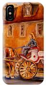 Wonderful Carriage Ride IPhone Case