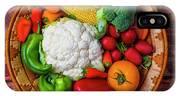 Wonderful Fresh Vegetables IPhone X Case