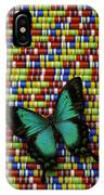 Wonderful Green Butterfly IPhone Case