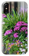 Wonderful Window Boxes Of Charleston IPhone Case by Cindy Lark Hartman
