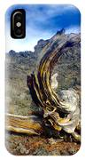 Wood And Lava IPhone Case