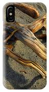 Wood And Sand IPhone Case