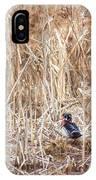 Wood Duck Drake 2 IPhone Case