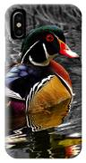 Wood Duck Drake IPhone Case