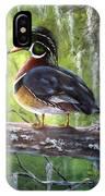 Wood Duck IPhone Case