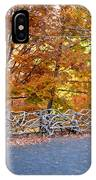 Wood Fence 1 IPhone Case