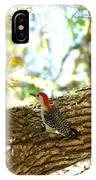 Wood Pecker IPhone Case