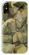 Wood Pile IPhone Case