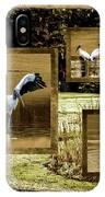 Wood Storks Of Oak Grove Island IPhone Case
